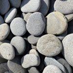 Flat Grey pebbles